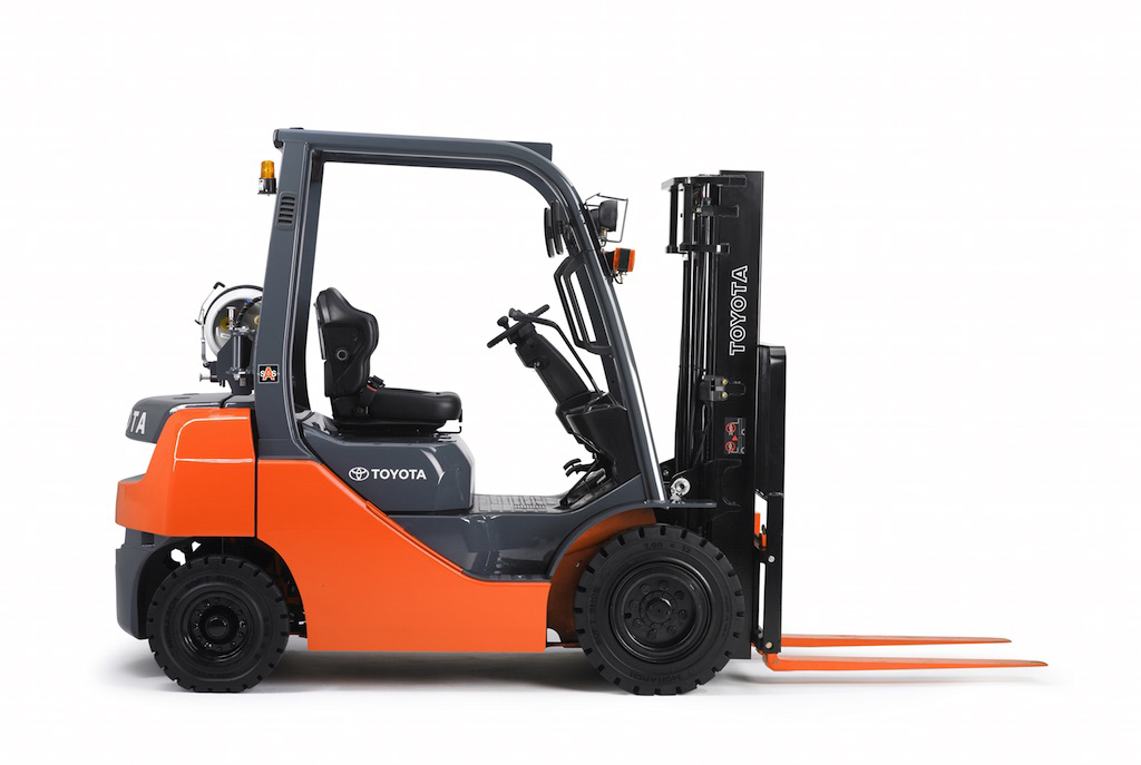 Industrial Forklift, 5000 lbs.