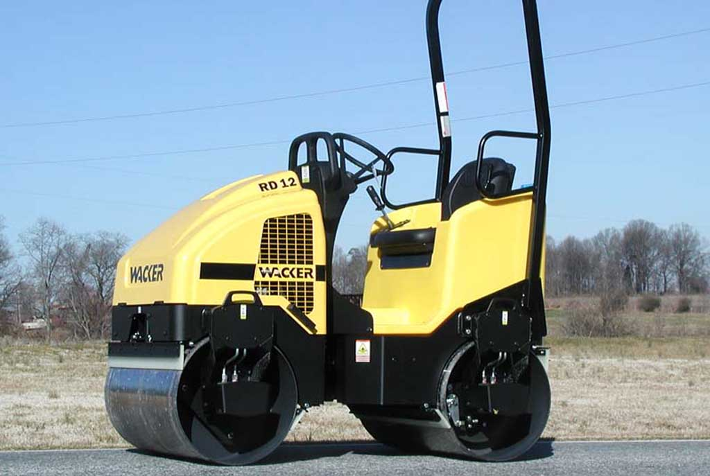 Ride-On Vibratory Roller, 1.5 ton, Double Drum
